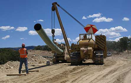 Izgradnja gasovoda